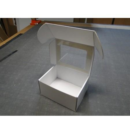 Boîte à oreille avec fenêtre transparente