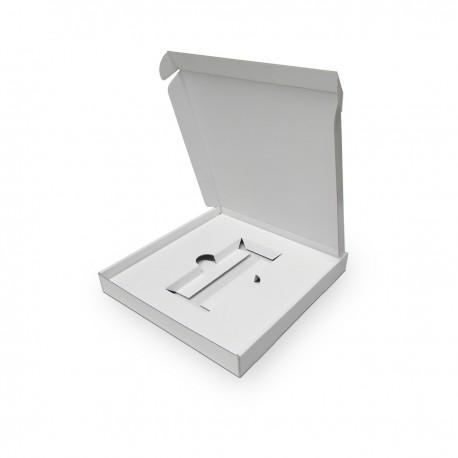 Boîte à oreilles avec calage intérieur